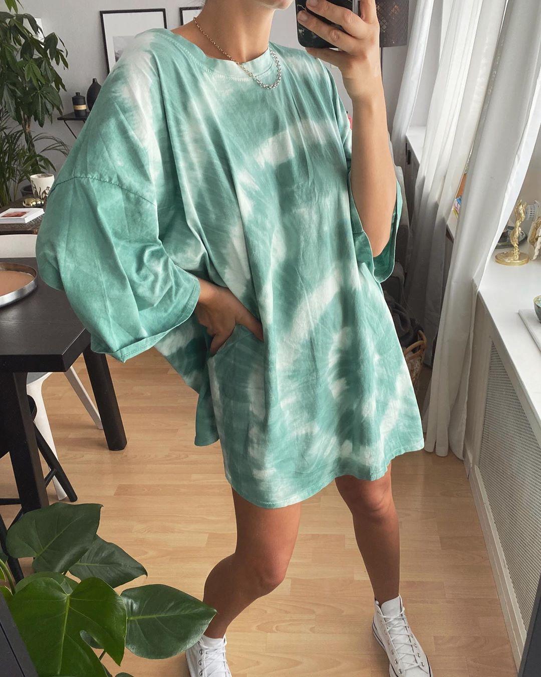 tee-shirt robe lagon de Les Bourgeoises sur lesbourgeoisesofficiel