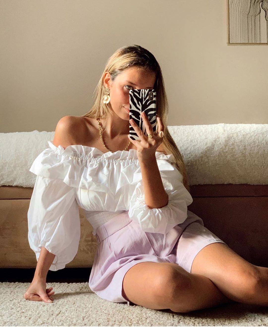 short fluide de Zara sur zara.outfits