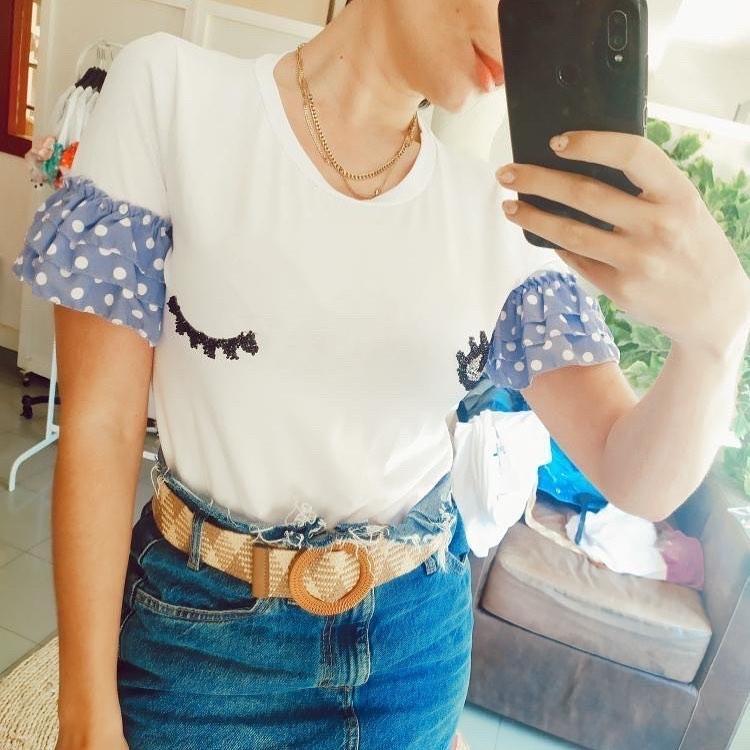 ceinture bimatière de Zara sur zara.outfits
