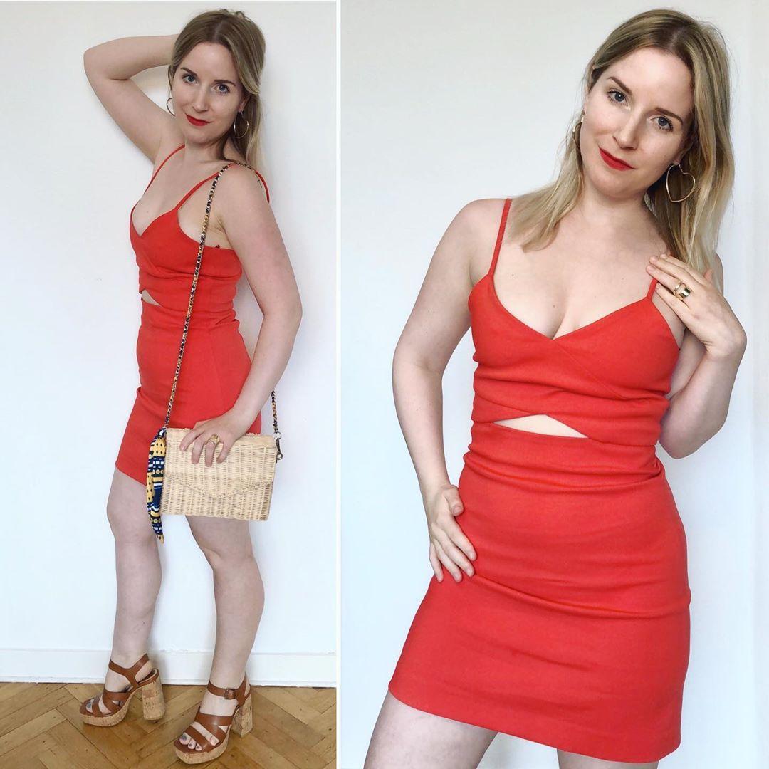openwork dress de Zara sur ixelloisechic