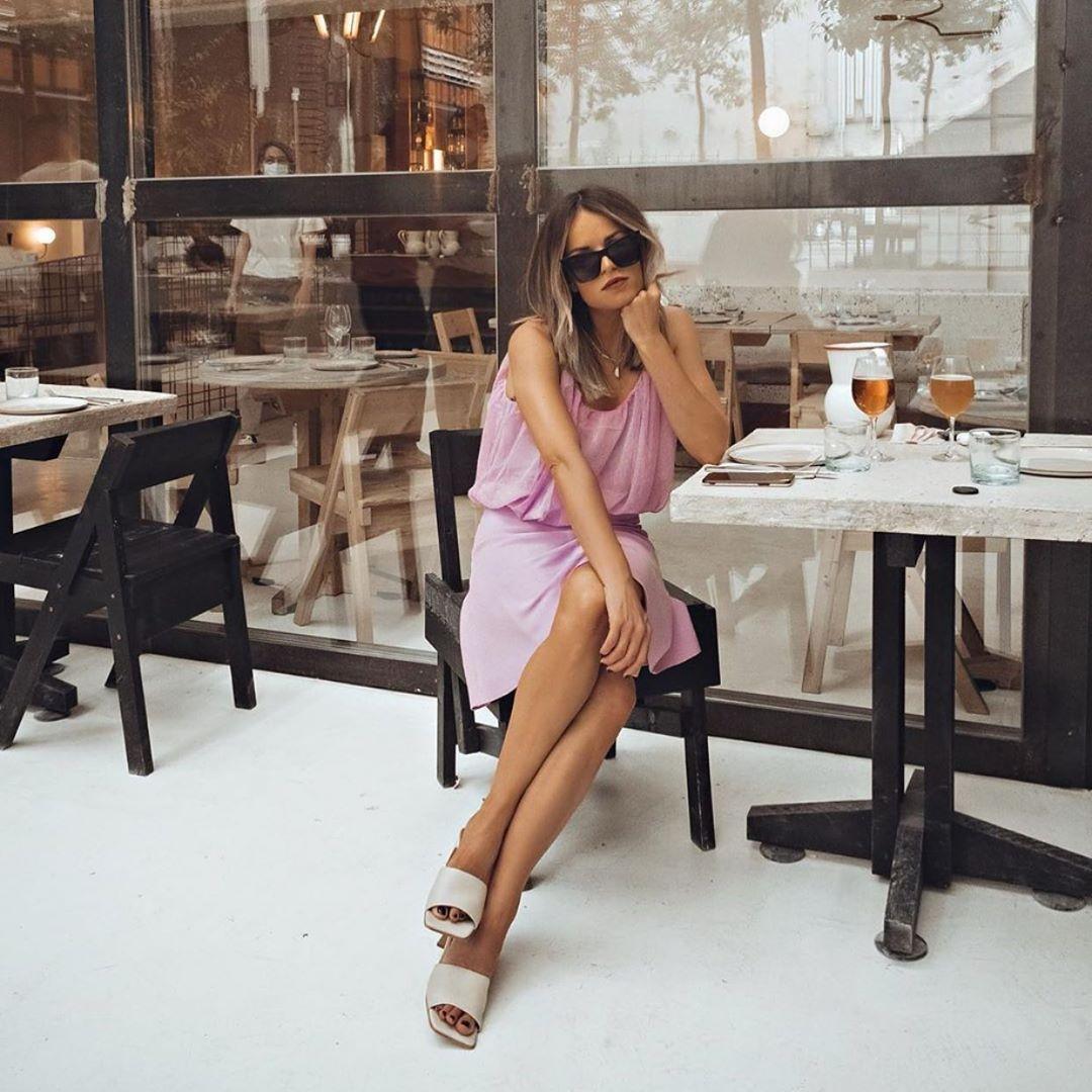 sandales à talons et imprimé animalier de Zara sur zara.outfits