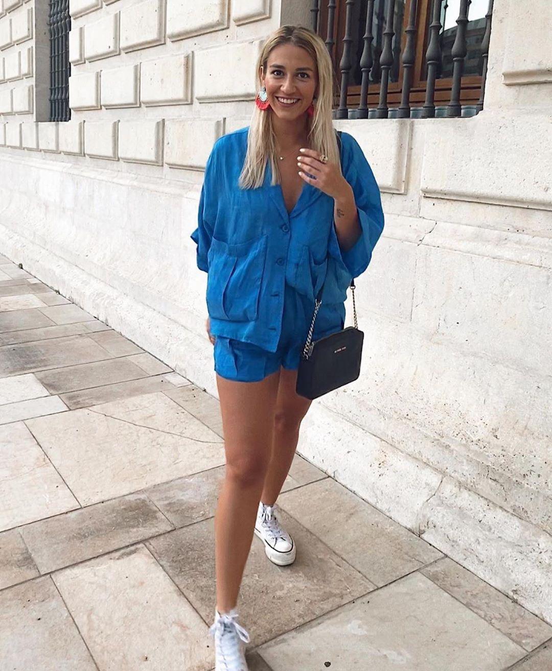 bermuda fluide de Zara sur zara.outfits