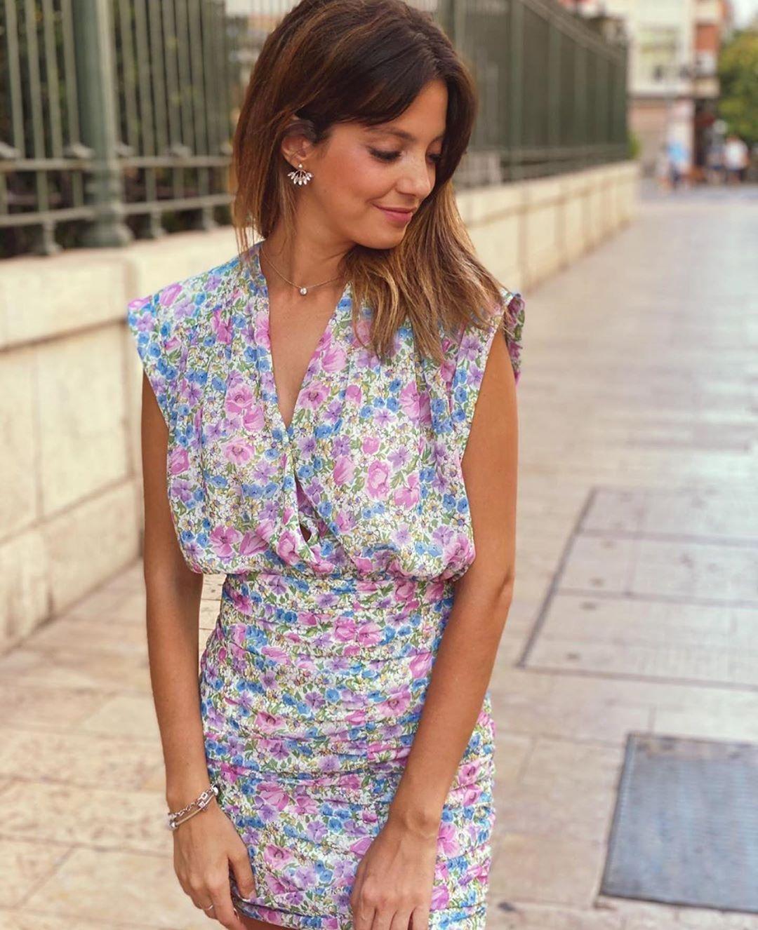 body imprimé fleurs de Zara sur zara.outfits