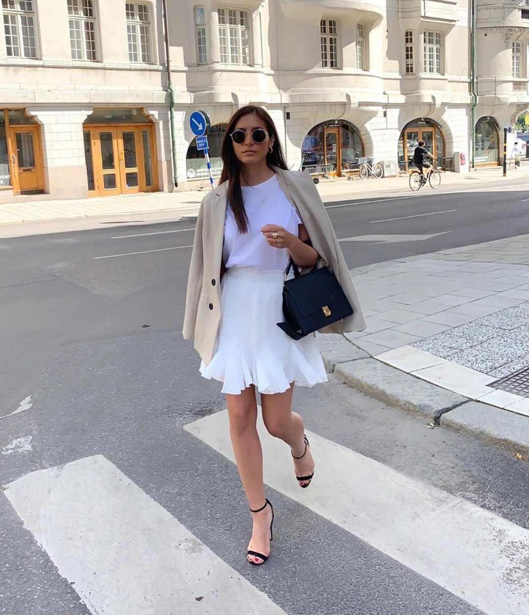 veste effet brut à surpiqûres de Zara sur zara.outfits