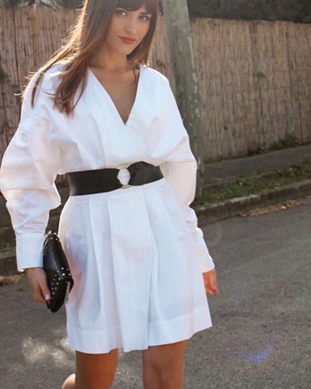 crossover dress de Zara sur look_by_zara_hm