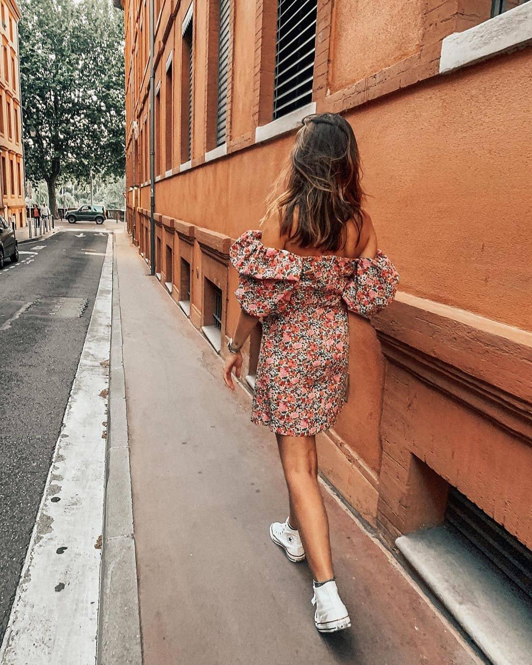 robe venice de Mango sur mango.outfits