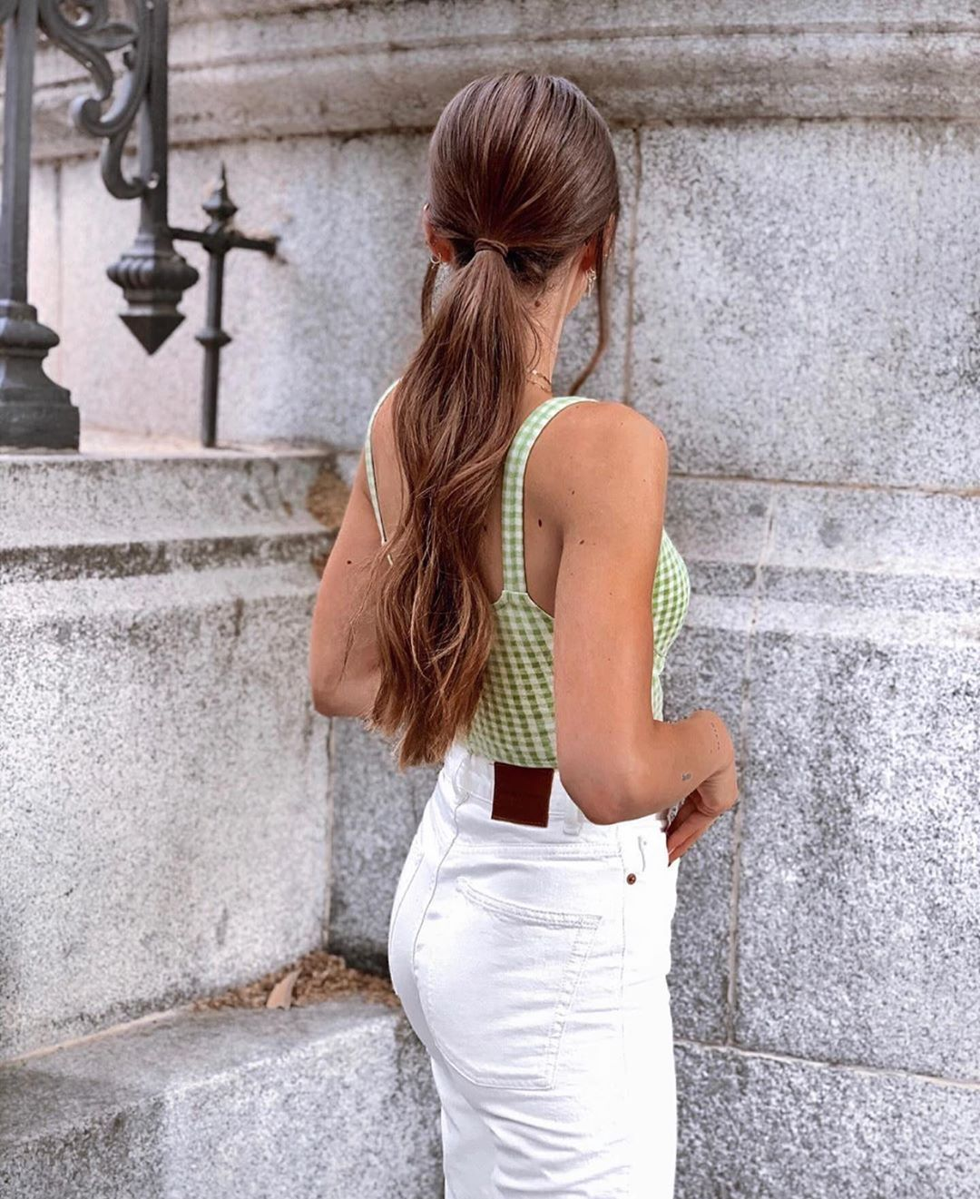 top crop jacquard de Zara sur zara.outfits