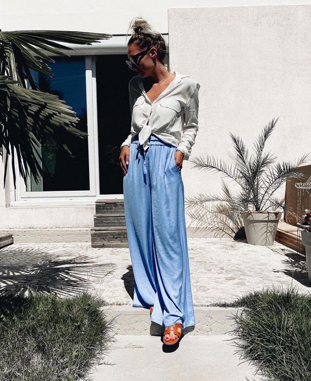 jupe satinée effet froissé de Zara sur zara.outfits