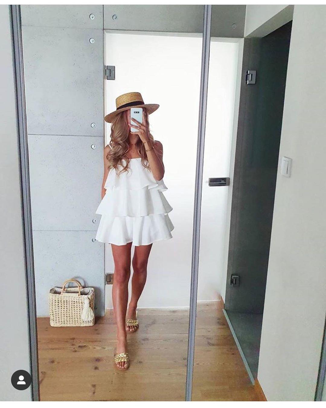 dress with ruffles de Zara sur look_by_zara_hm