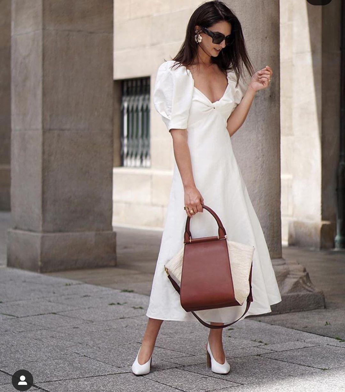 rustic bow dress de Zara sur look_by_zara_hm