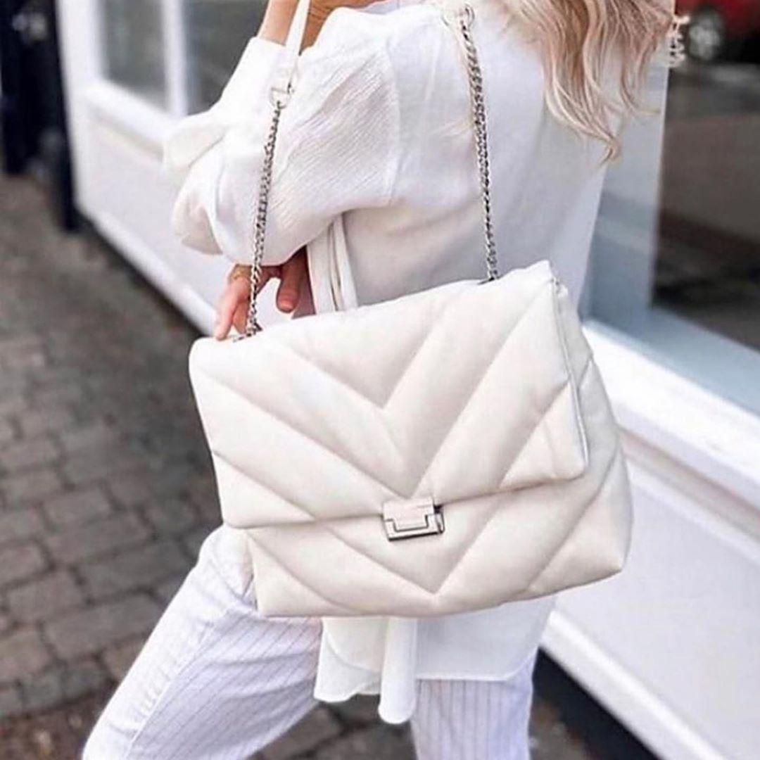 maxi quilted crossbody bag de Zara sur look_by_zara_hm