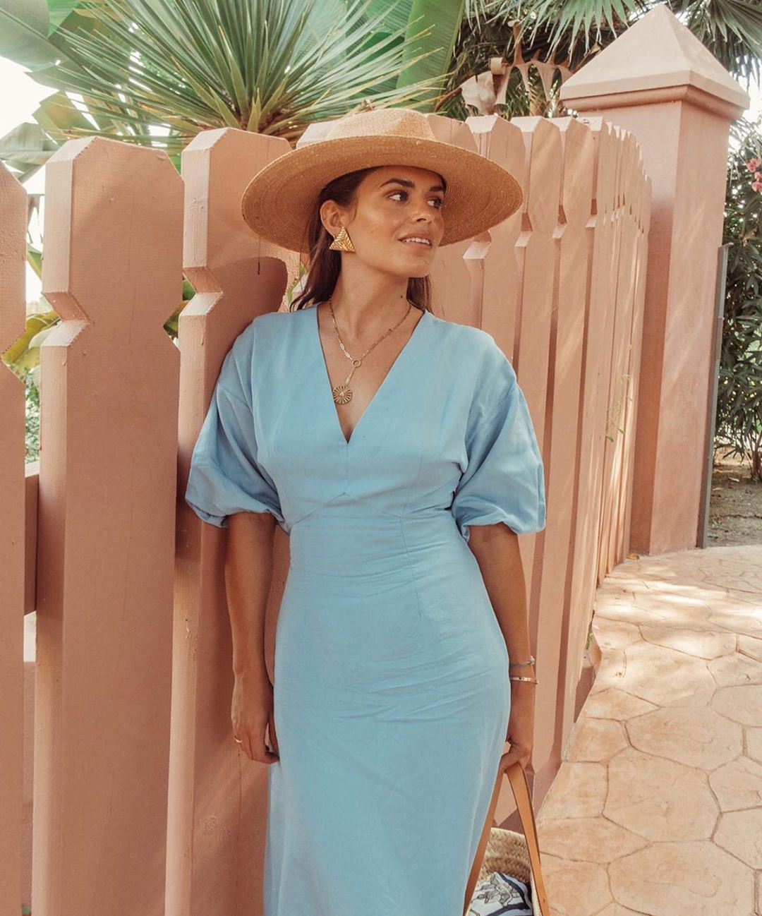 robe rustique à volume de Zara sur zara.outfits