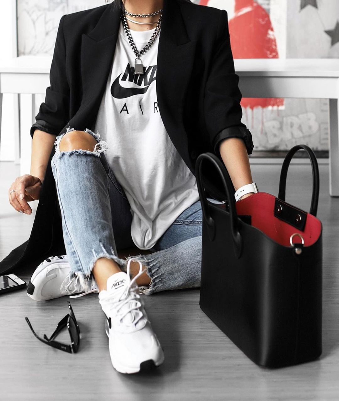 rolled up sleeve jacket de Zara sur zara_daily