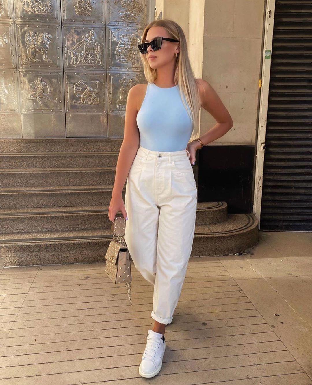 body à encolure américaine de Zara sur zara.outfits