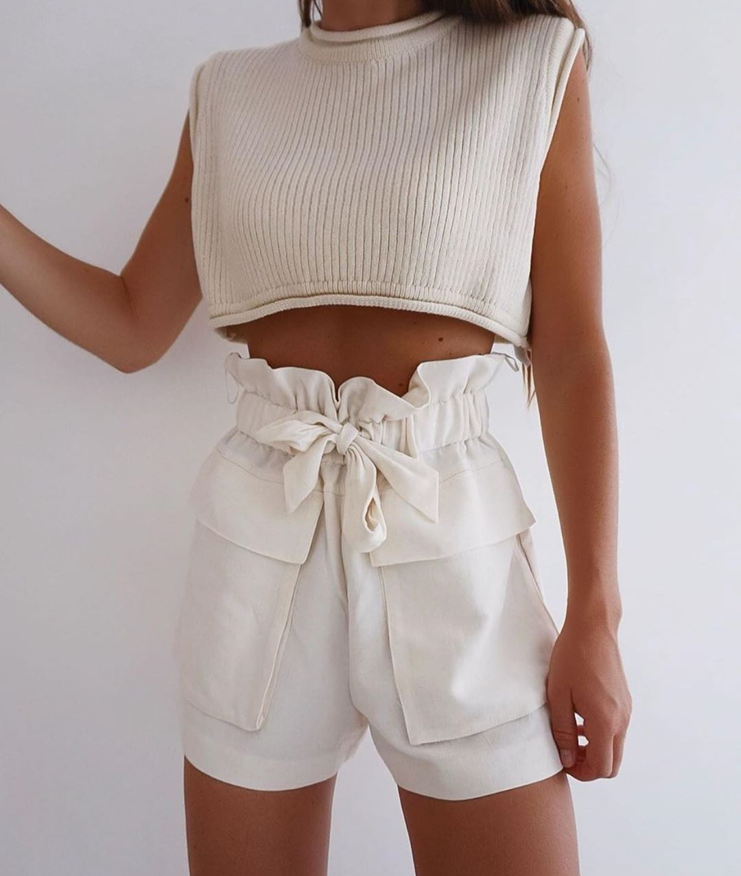 cropped knit top de Zara sur zaraaddiction