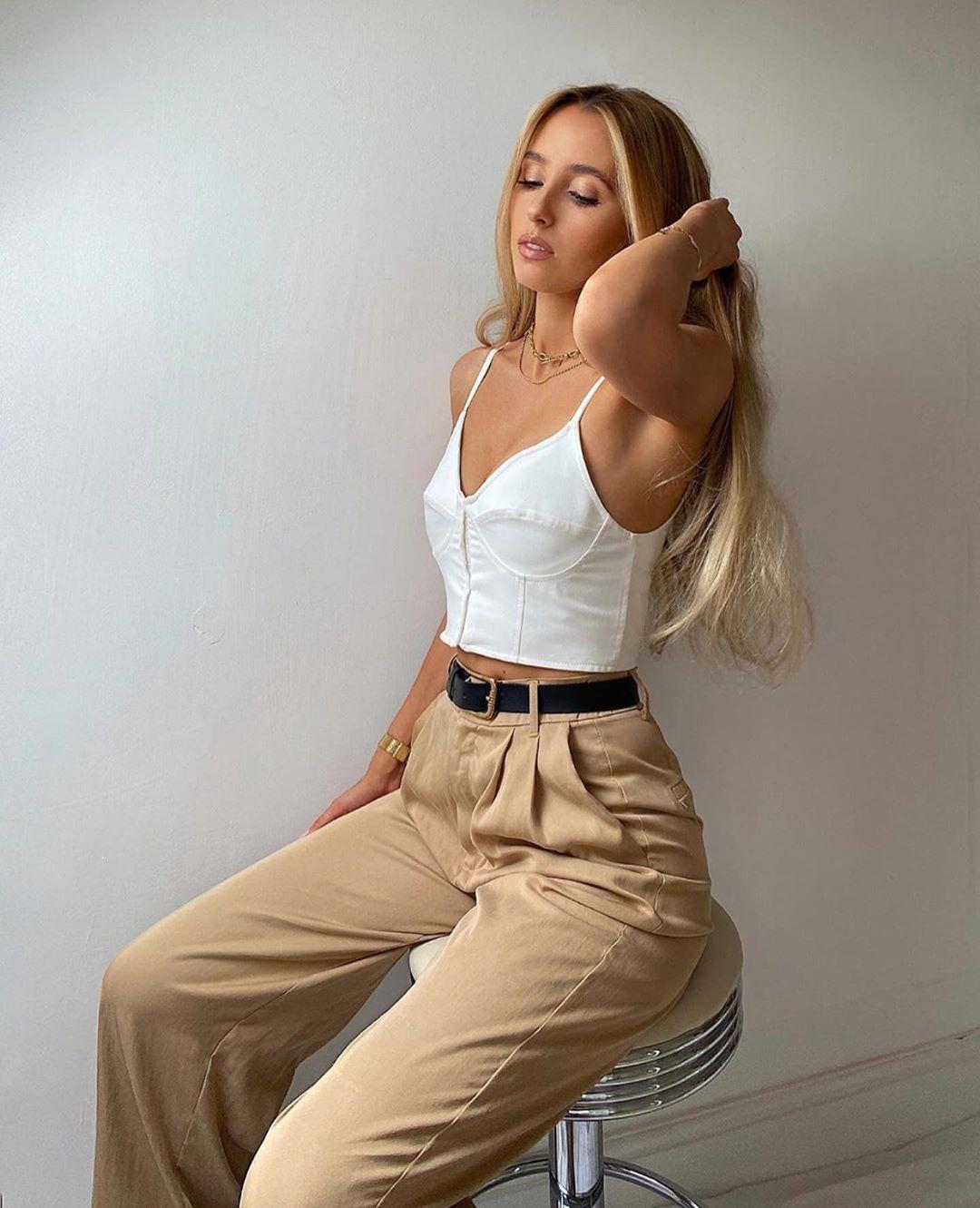 top style corset de Zara sur zara.outfits