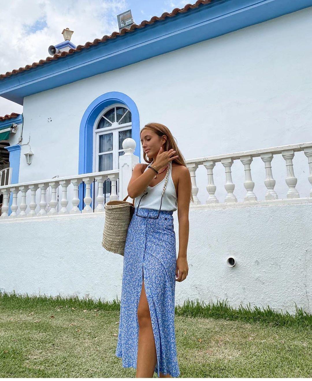 jupe plissée de Zara sur zara.outfits