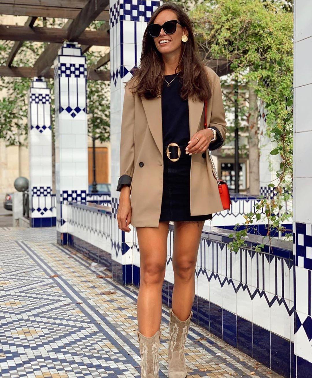 ceinture avec boucle texturée de Zara sur zara.outfits