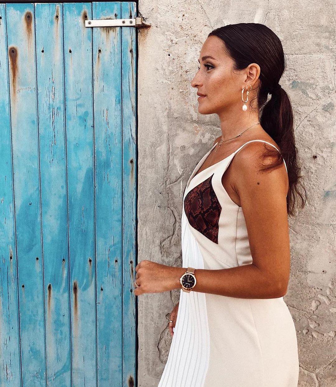 robe style lingerie plissée de Zara sur zara.outfits