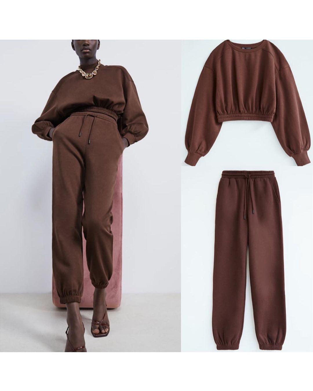 pantalon de jogging limitless contour collection 09 de Zara sur look_by_zara_hm