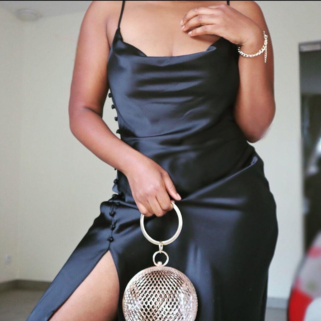 dress style satiny lingerie de Zara sur zara_daily