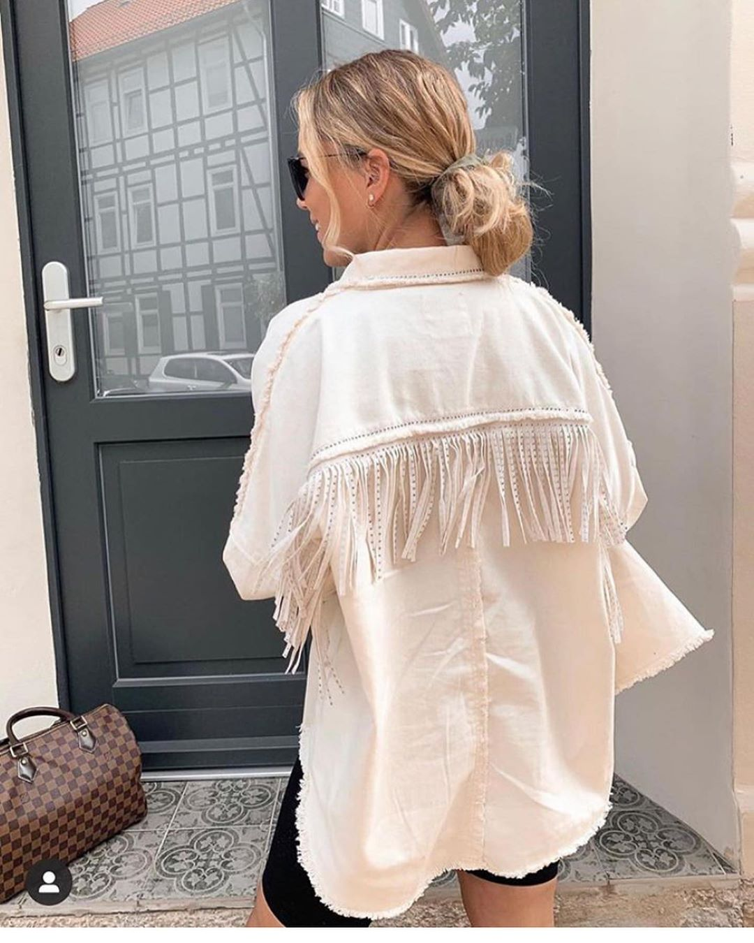 jacket with fringes and studs de Zara sur look_by_zara_hm
