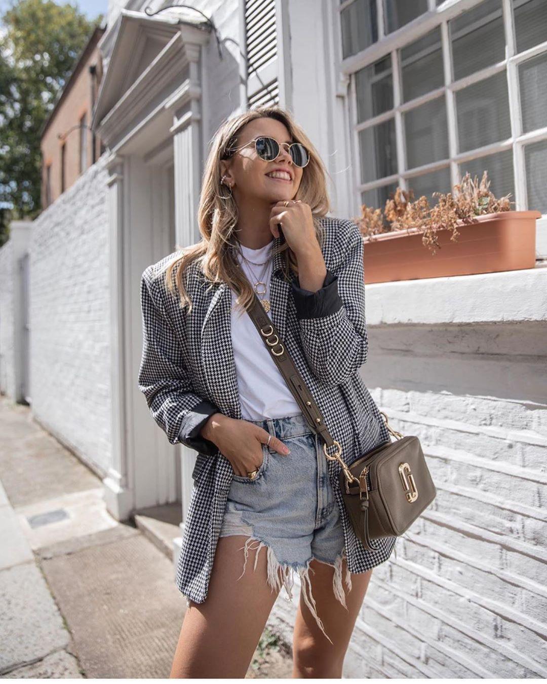 short en jean taille haute de Zara sur zara.outfits