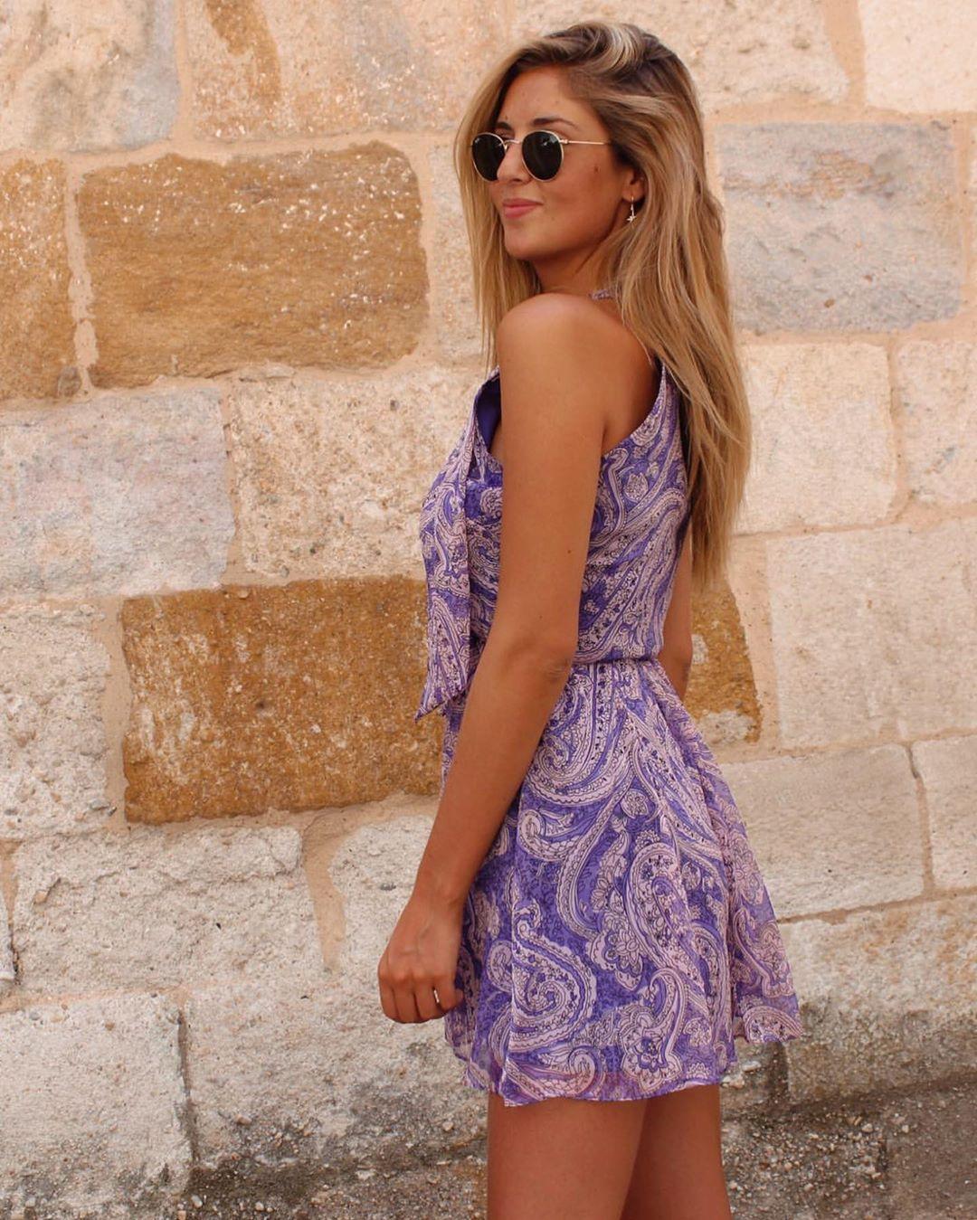 printed short jumpsuit de Zara sur zara__lovers