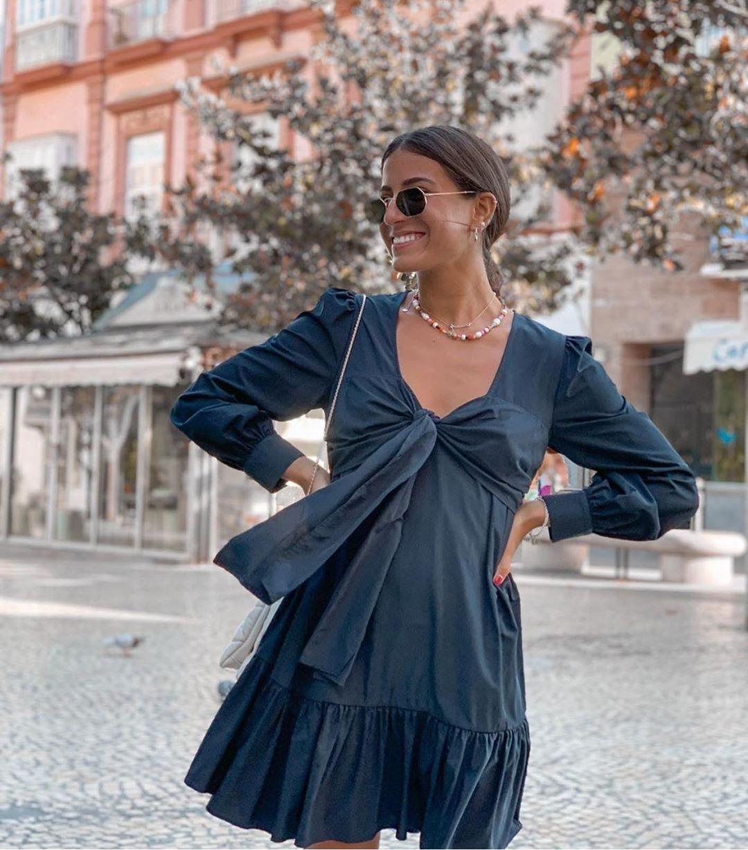 top en popeline à élastiques de Zara sur zara.outfits