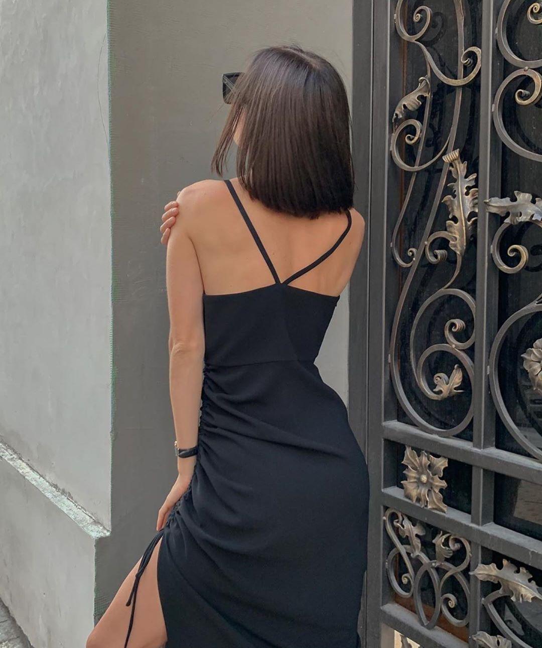 draped dress de Zara sur zaraaddiction