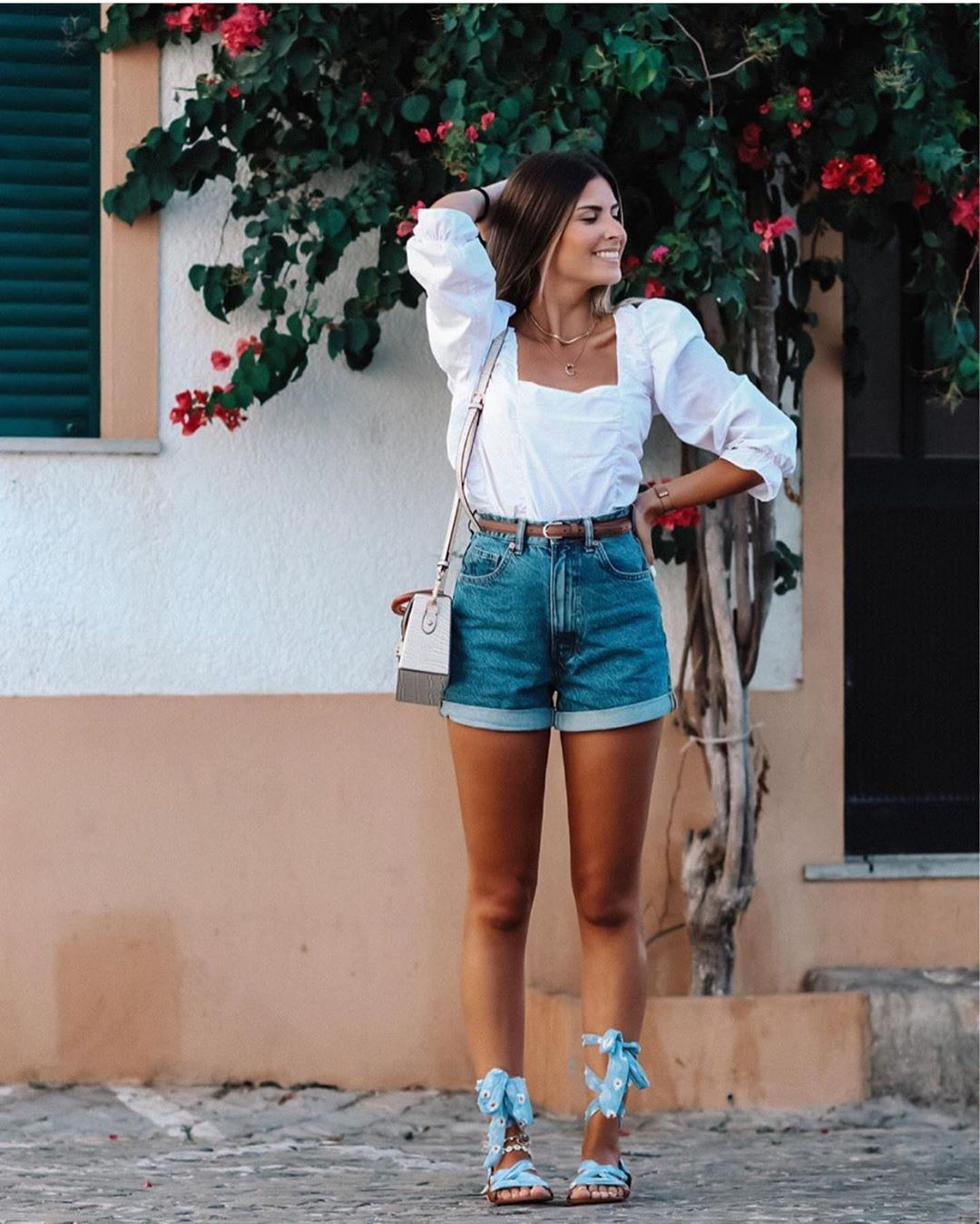 short en jean mom fit de Zara sur zara.outfits