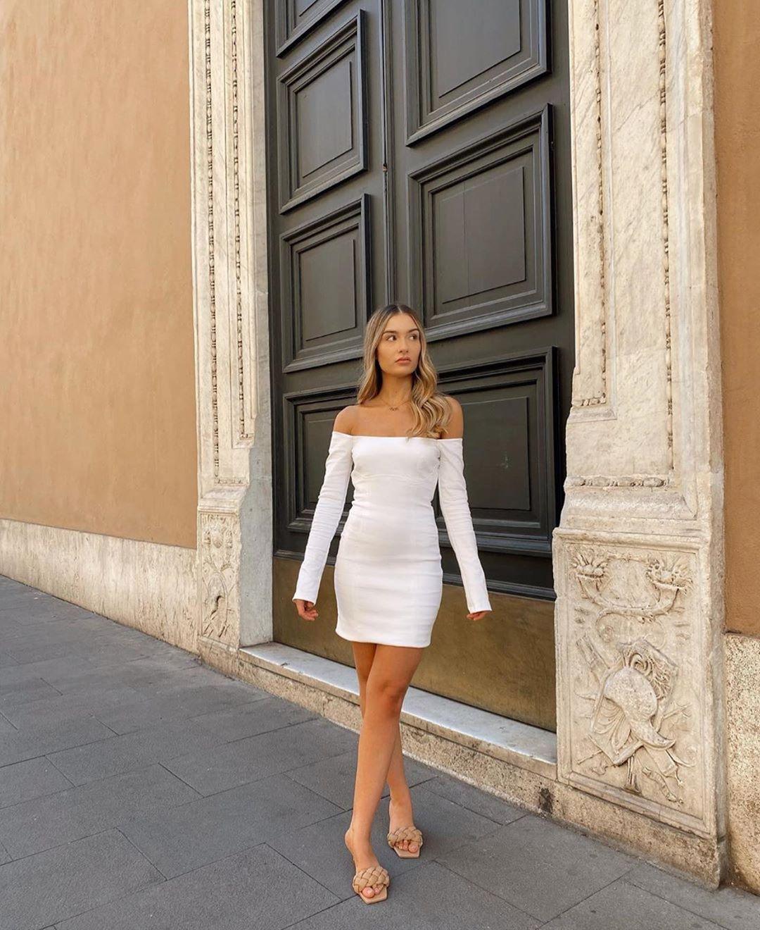 robe ajustée de Zara sur zara.outfits