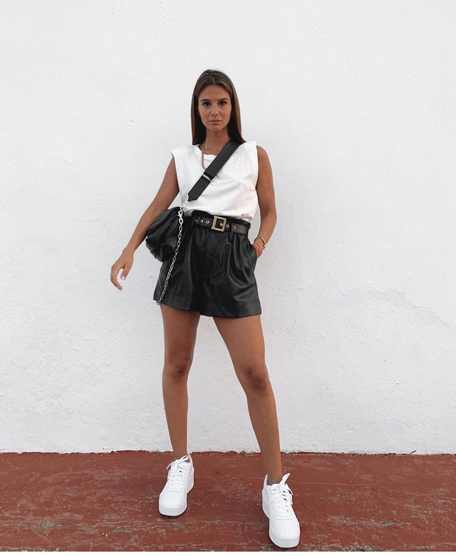 tennis avec semelles translucides compensées de Zara sur zara.outfits