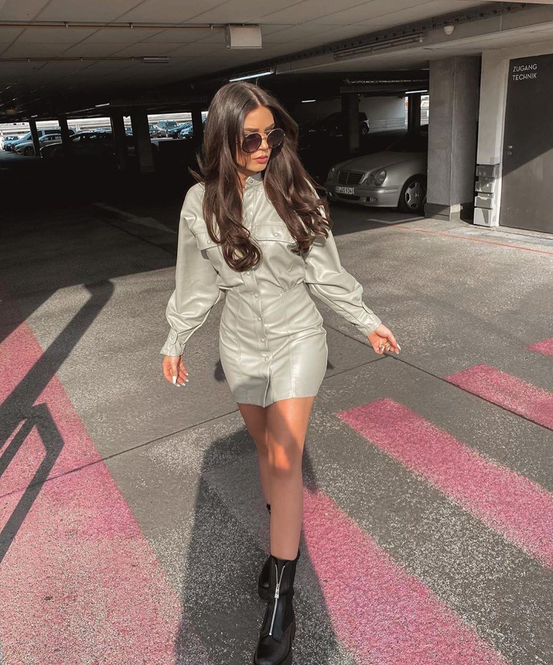 bottines en cuir track de Zara sur zara.outfits