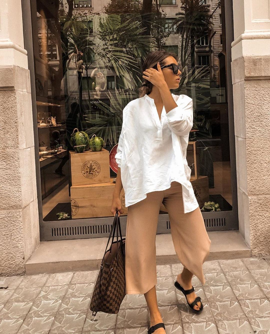 pantalon baggy de Zara sur zara.outfits