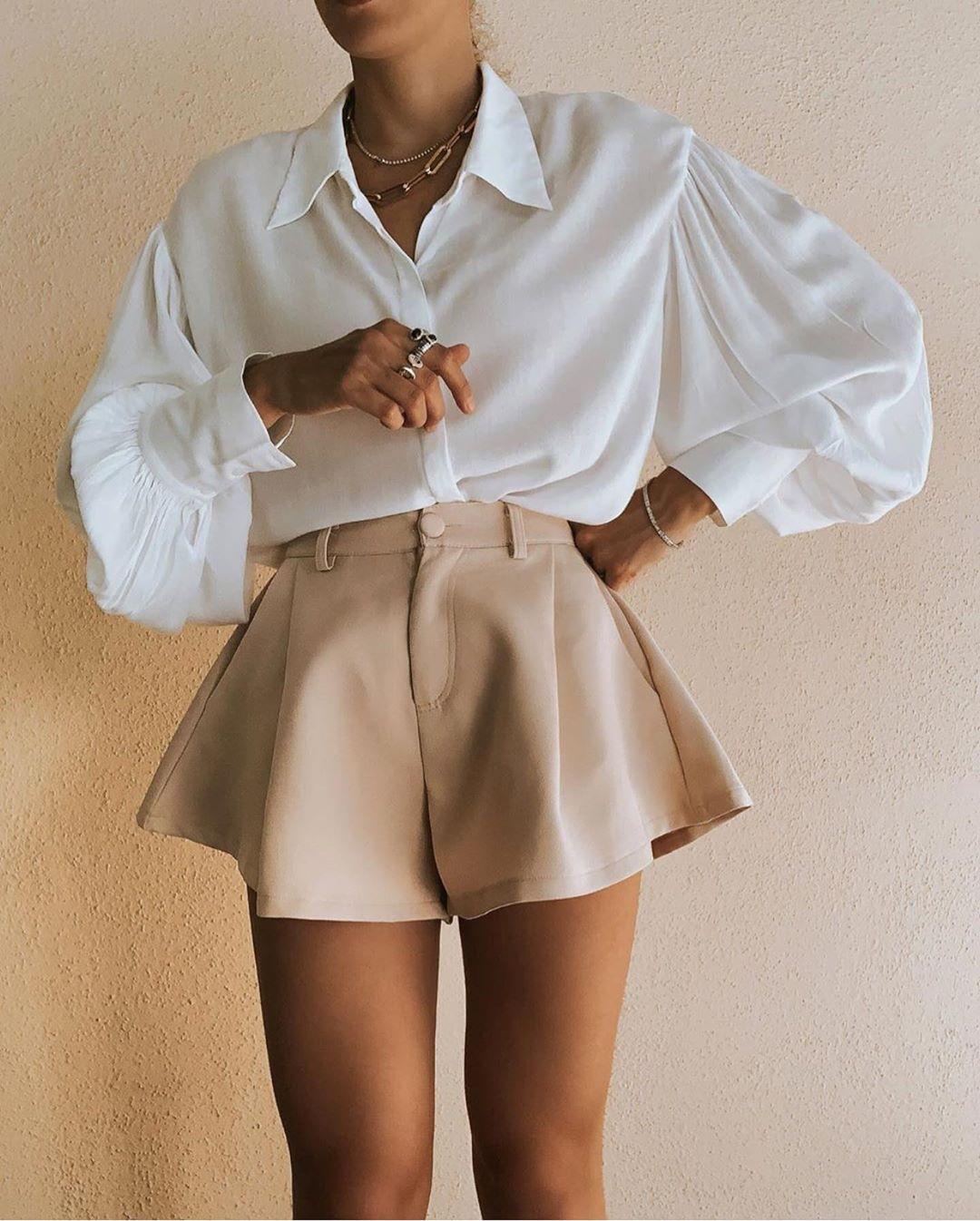 blouse à boutons de Zara sur zara.outfits