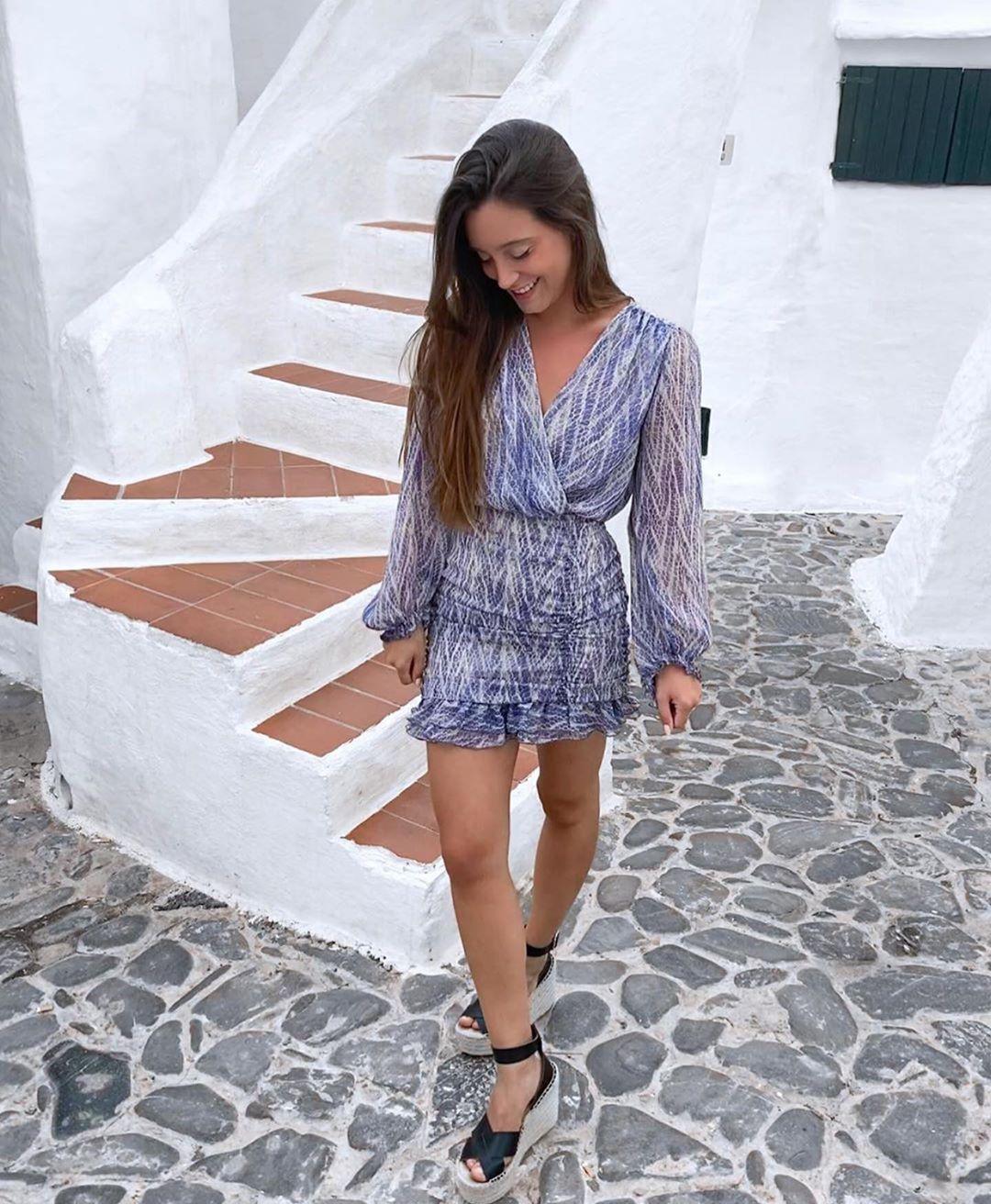 robe drapée à imprimé animal de Zara sur zara.outfits