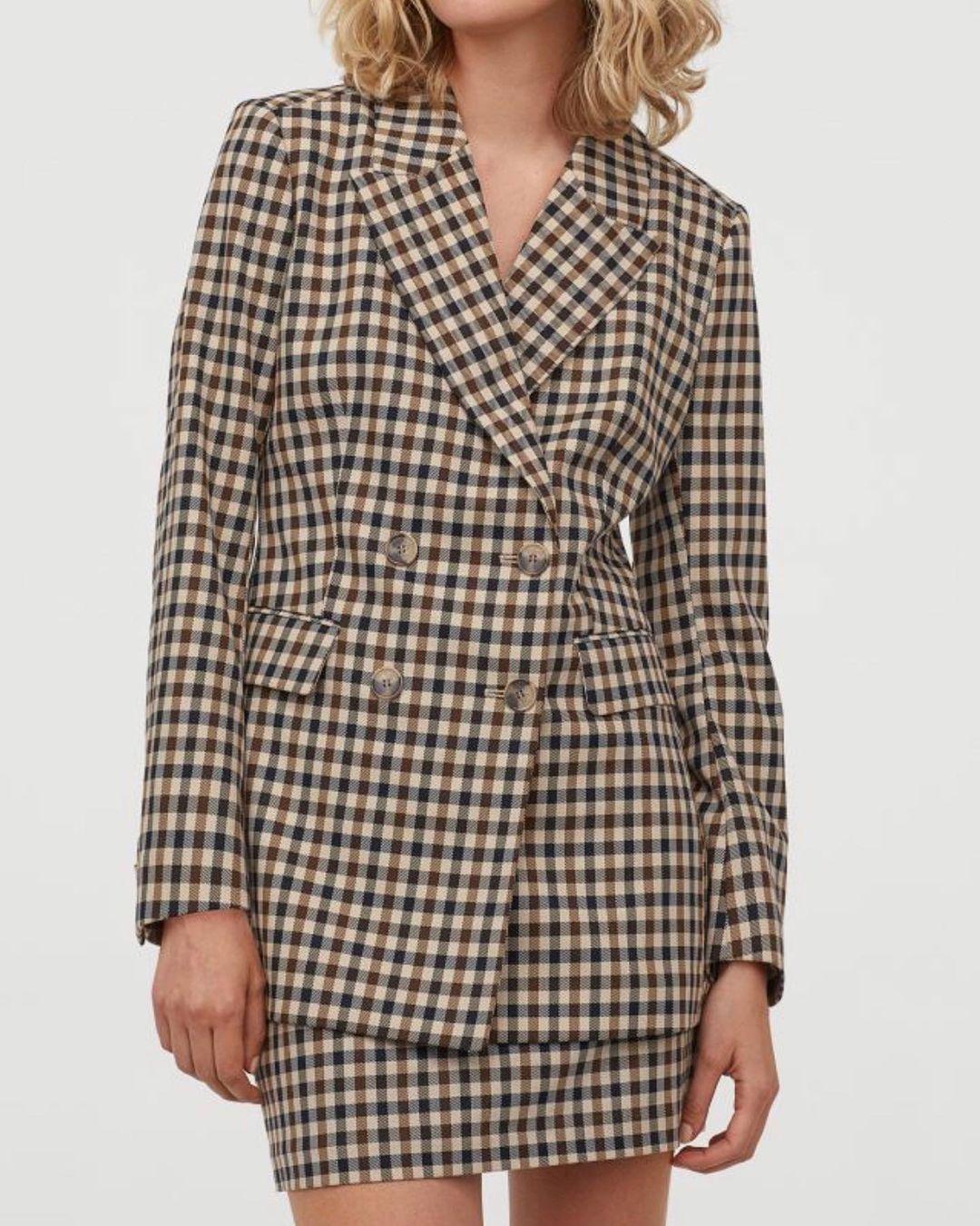 patterned jacket de H&M sur hm.addicted