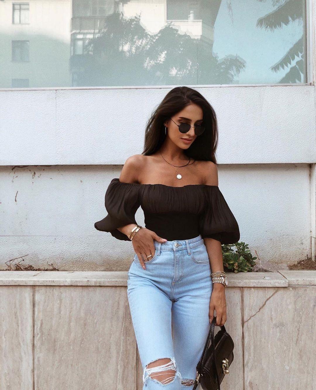 body en matières variées de Zara sur zara.outfits