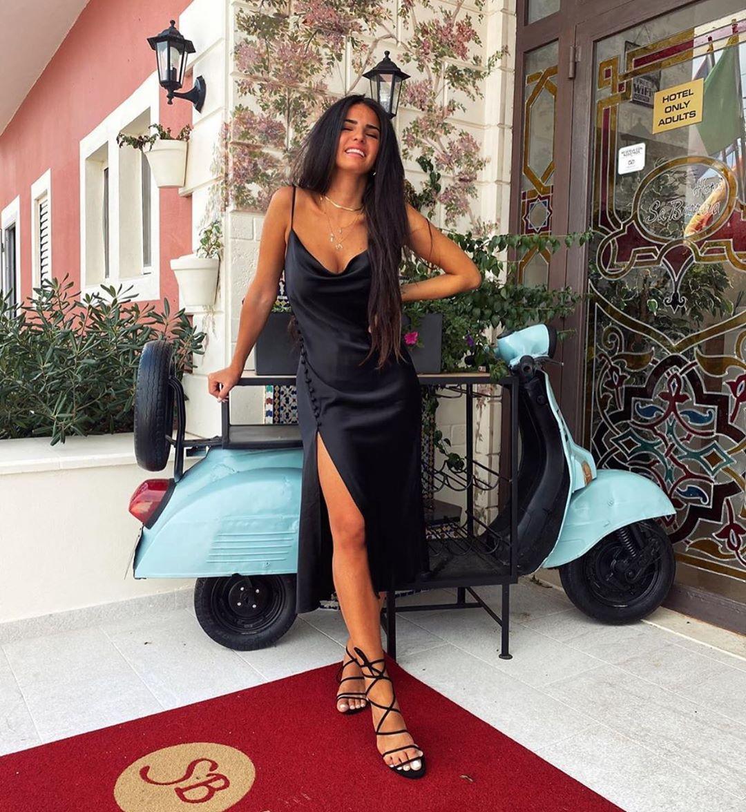 dress style satiny lingerie de Zara sur zaraaddiction