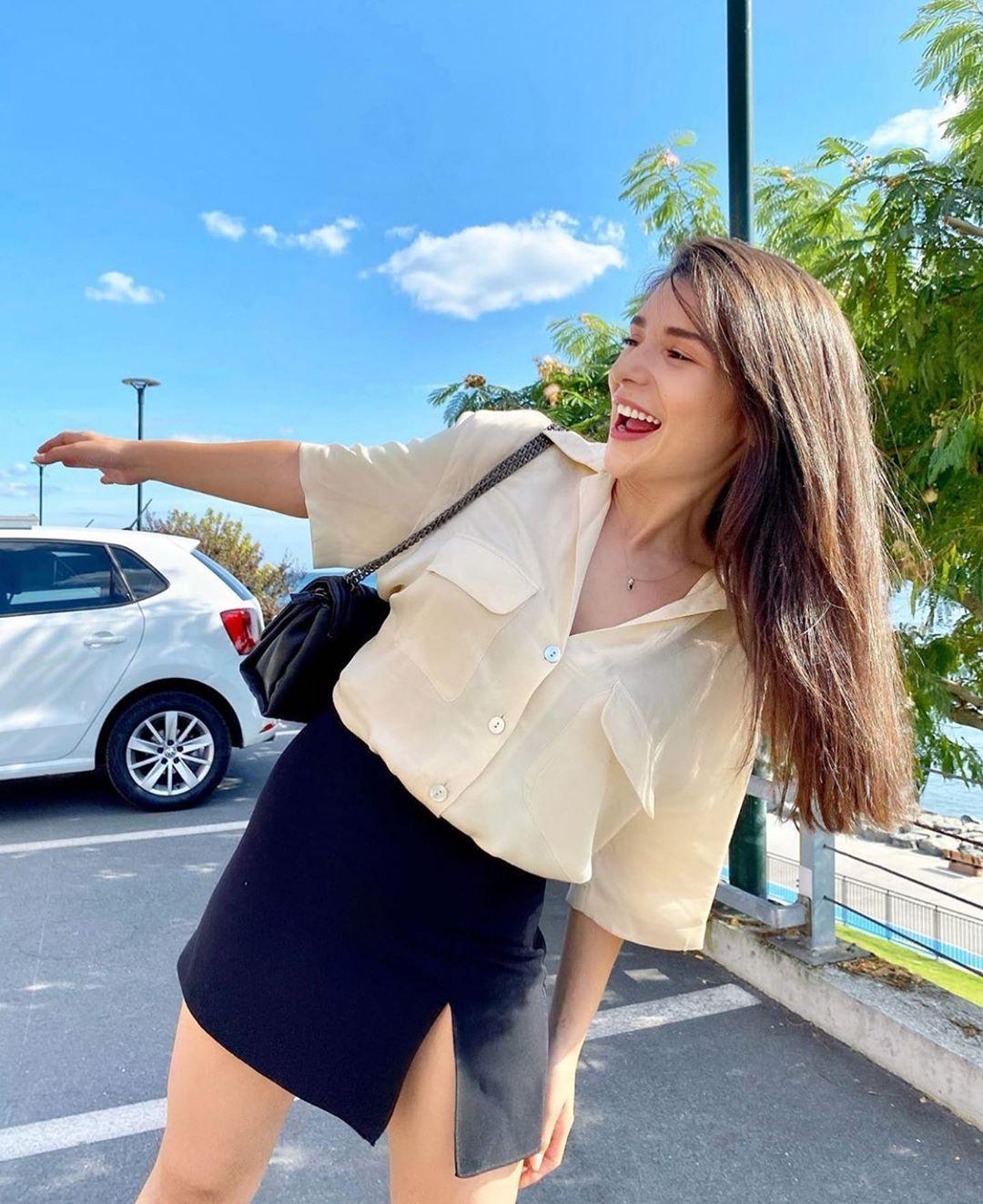 satin blouse with pockets de Zara sur zarastreetstyle