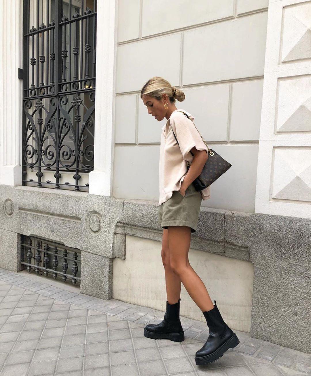 short avec taille plissée de Zara sur zara.outfits
