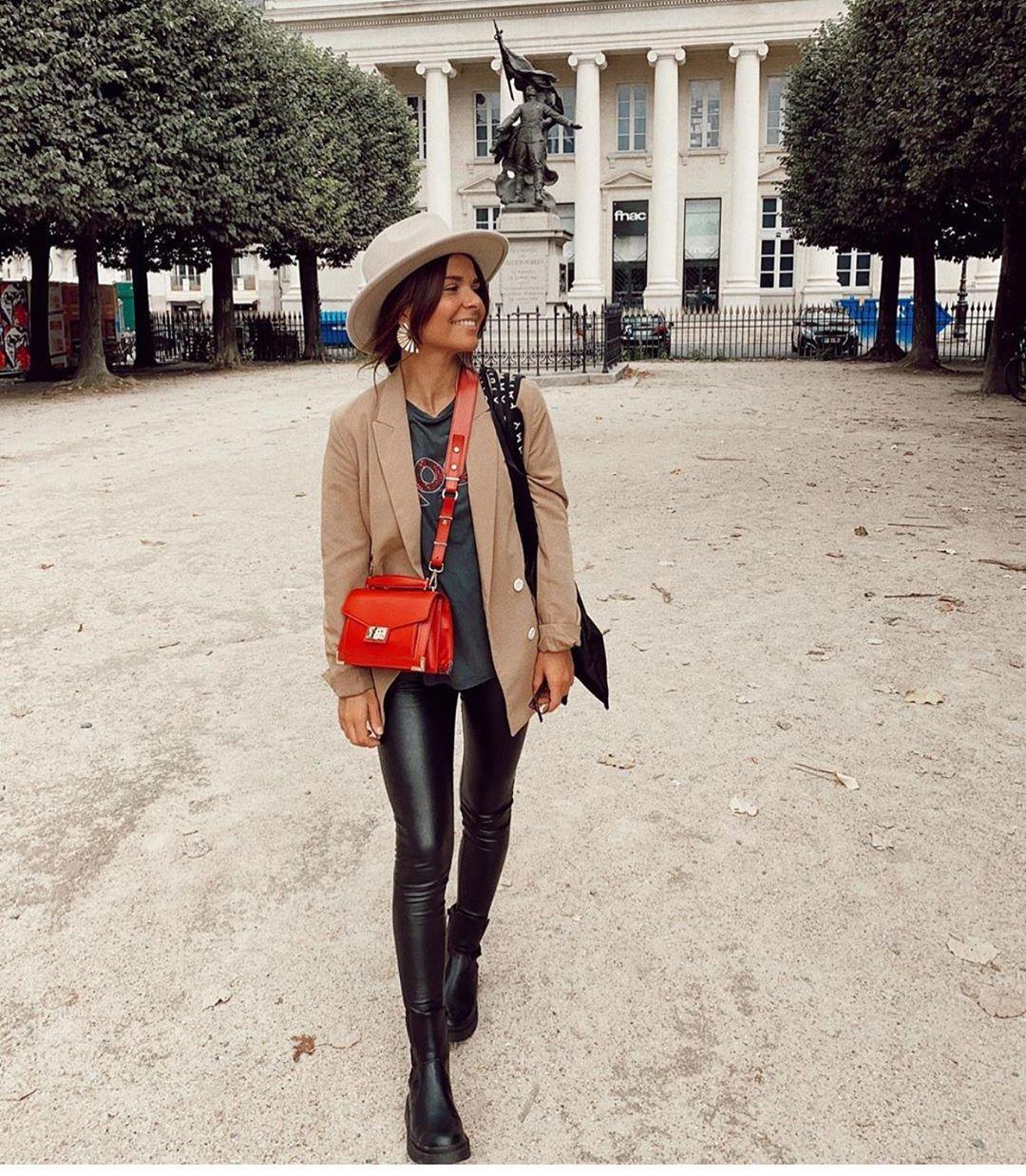 bottines plates en cuir track de Zara sur zara.outfits