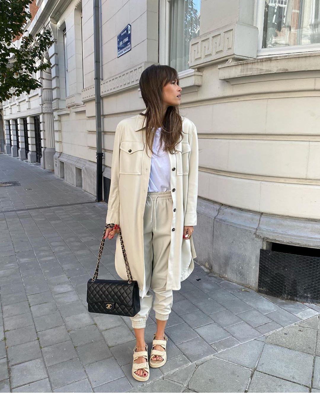 surchemise en cuir synthétique de Zara sur zara.outfits