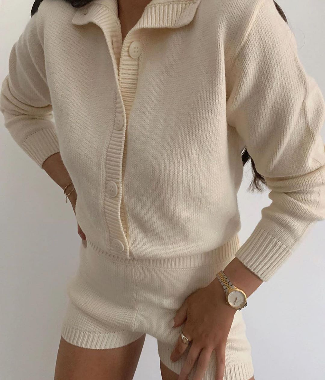 limited edition knit jumpsuit de Zara sur zaraaddiction