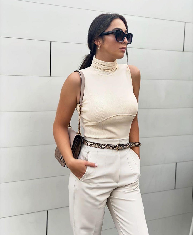 body côtelé effet délavé de Zara sur zara.outfits