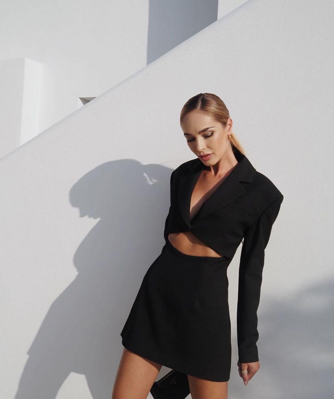 short dress jacket limited edition de Zara sur zarastreetstyle