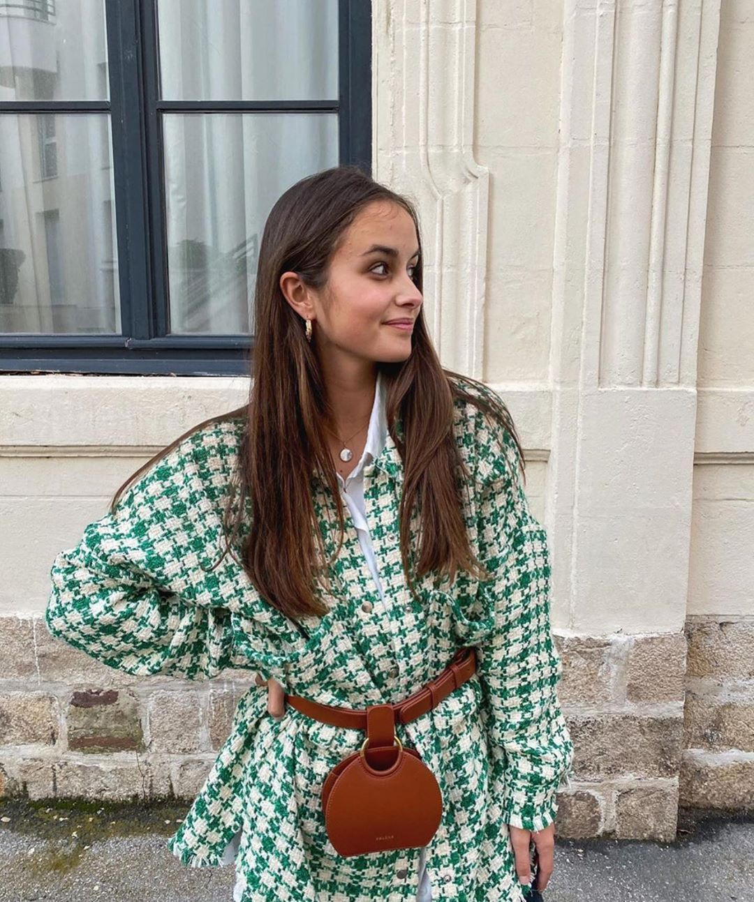 chemise structurée de Zara sur zara.outfits