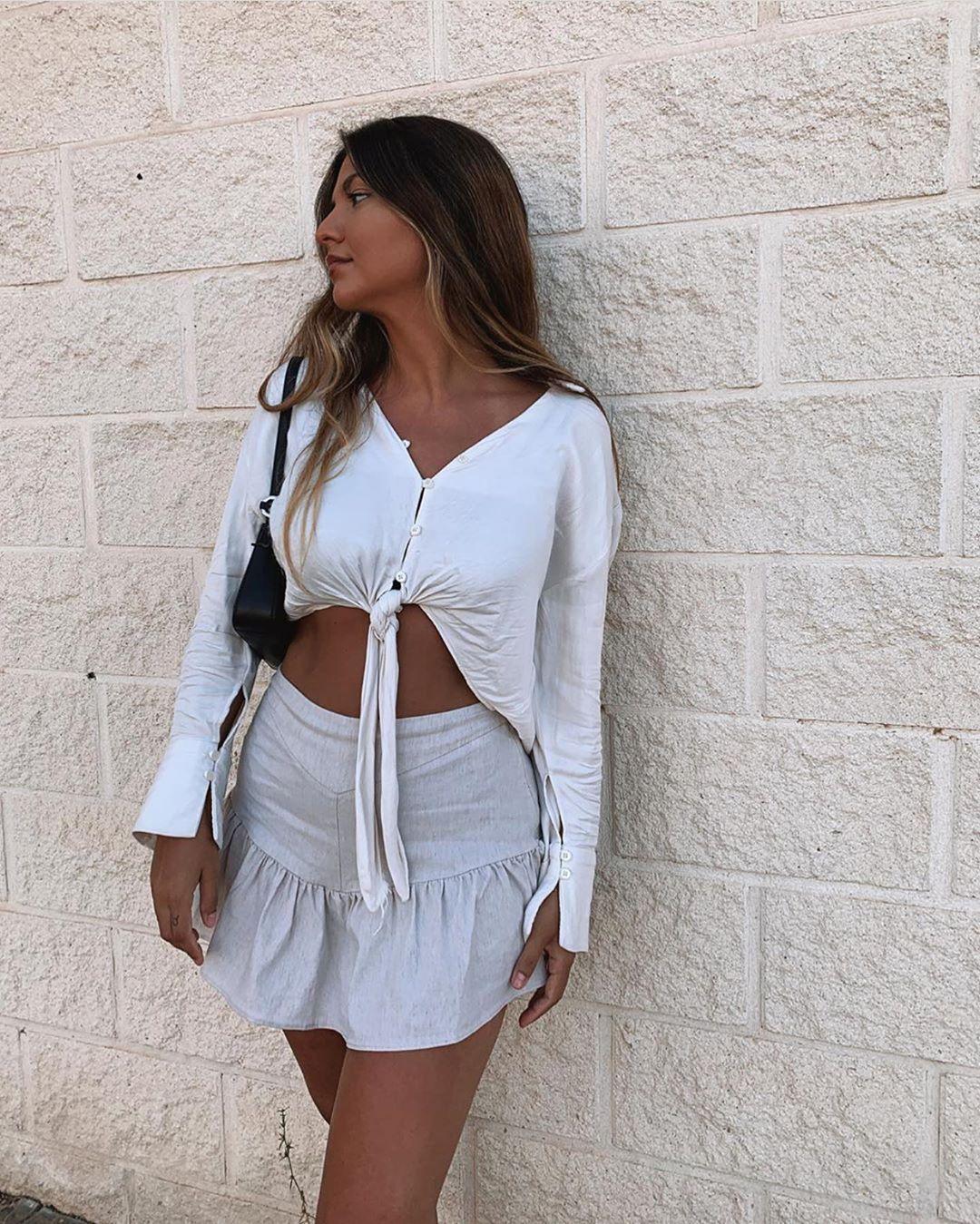 blouse satinée avec nœud de Zara sur zara.outfits