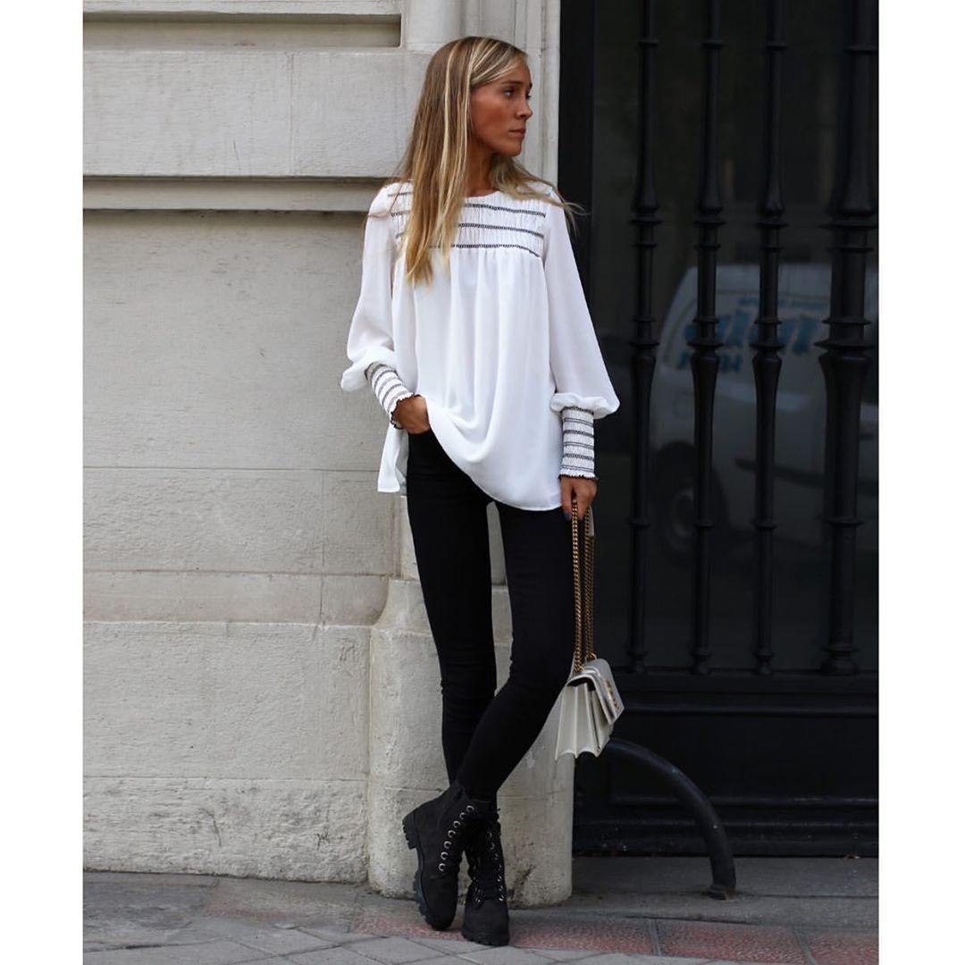 legging avec large bande à la taille de Zara sur zara.outfits